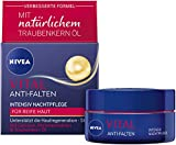 NIVEA VITAL Intensiv Nachtpflege, reichhaltige Feuchtigkeitspflege mit Calcium, Perlenextrakten &...