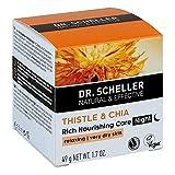 DR.SCHELLER Distel&Chia reichhaltige Pflege Nacht 50 ml