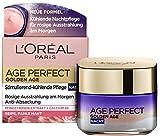L'Oréal Paris Nachtpflege, Age Perfect Golden Age, Anti-Aging Gesichtspflege, Festigung und Glanz,...
