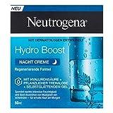 Neutrogena Hydro Boost feuchtigkeitsspendende Nachtpflege Gesichtscreme mit Hyaluronsäure,...