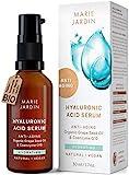 Hyaluronsäure Serum mit Vitamin C und Q10, hochdosiert mit geprüftem 5-fach Anti-Aging-Komplex,...